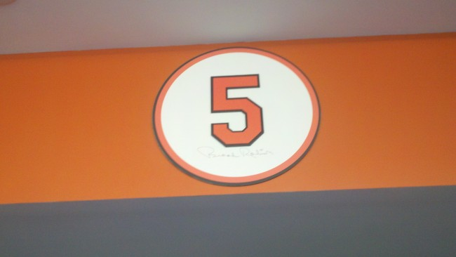 Hall of Fame Lounge at Camden Yards-Brooks Robinson