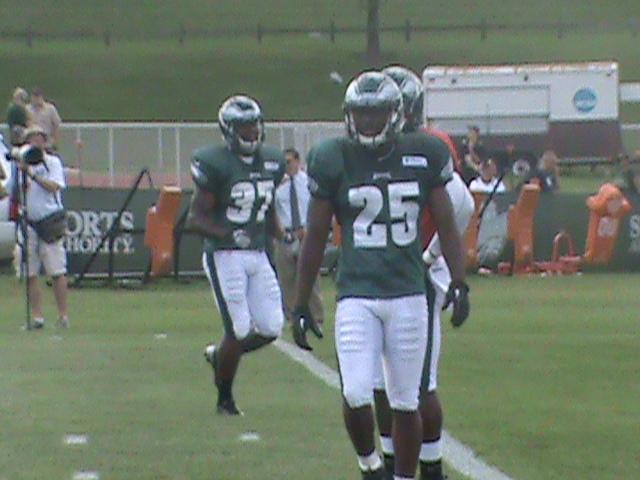 LeSean McCoy in RB drills