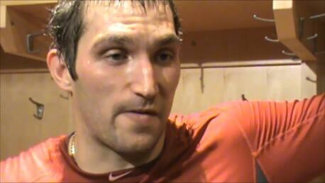 Washington Capitals captain Alexander Ovechkin