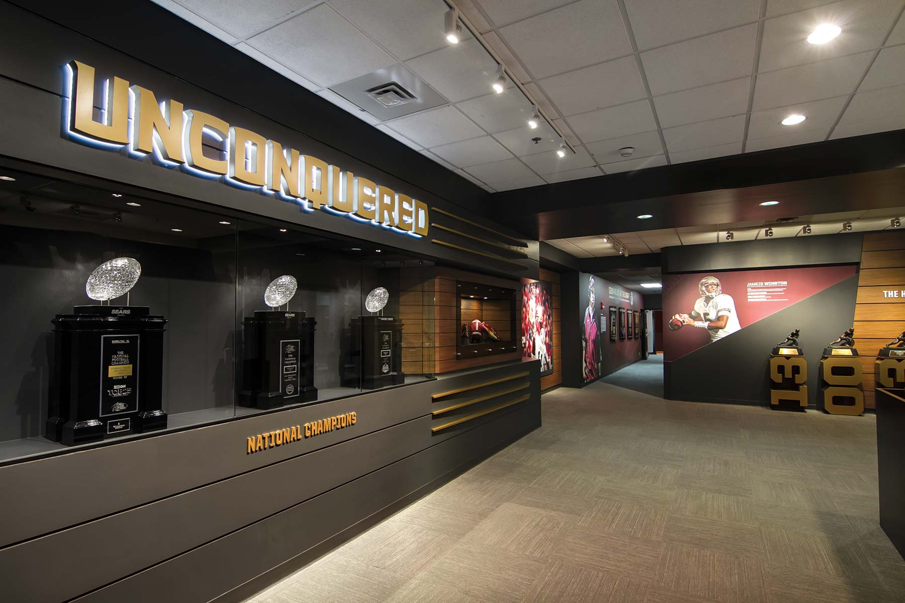 Florida State Locker Room Tour