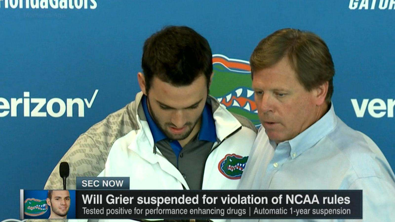 Will Grier S Penalty Too Public Too Harsh The Sports