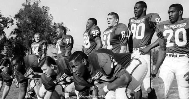 Michigan State football was integrated when most teams were not. (spartanjerseys.com)
