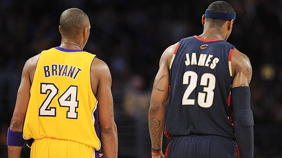Thank You, Kobe and LeBron - The Sports Column | Sports ...