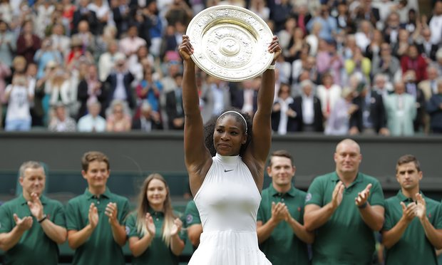 Congratulations, Serena!