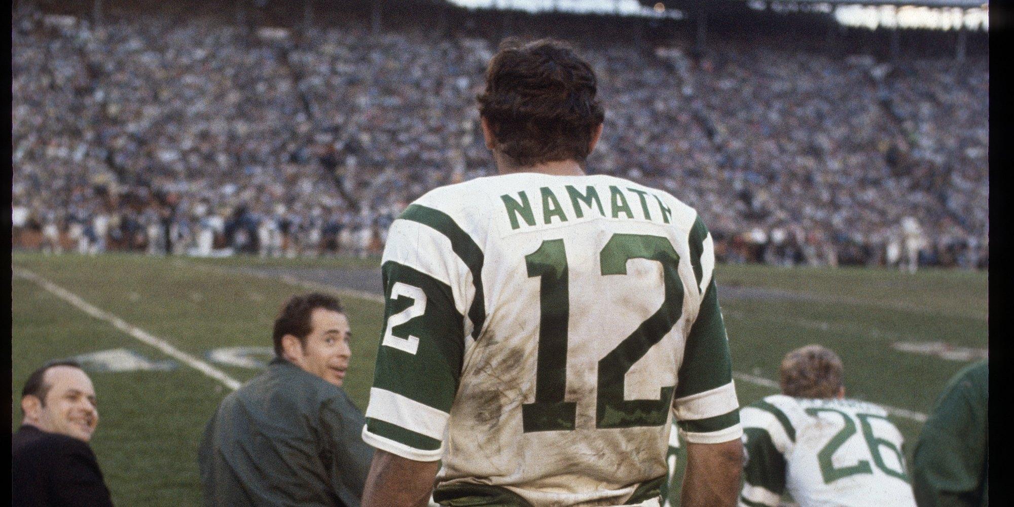 Joe Namath, Overrated Or Underappreciated? - The Sports Column ...